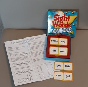 Fun Learning Sight Words Dominos